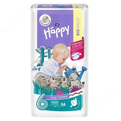 Зображення Підгузники дитячі Happy Bella baby junior extra, 16+кг, №54
