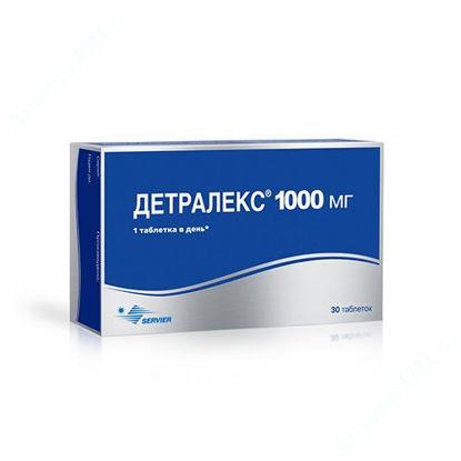 Изображение Детралекс таблетки 1000 мг №30