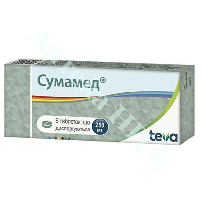 Изображение Сумамед таблетки 250 мг №6
