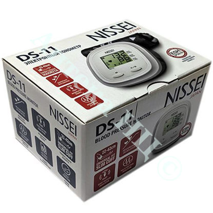 Изображение DS-11 NISSEI Измеритель АТ цифровой автоматический, универсальная манжета 22-42см №1