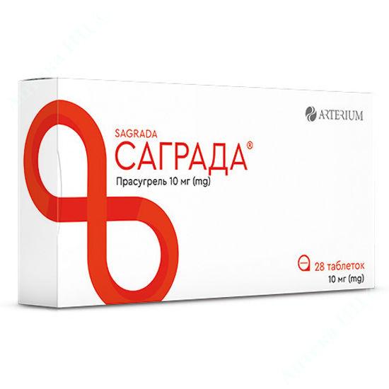 Зображення Саграда таблетки 10 мг №28