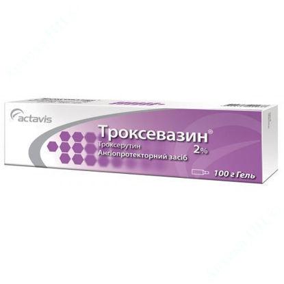 Изображение Троксевазин гель 2% 100 г