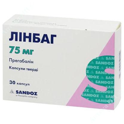Изображение Линбаг капсулы 75 мг №30