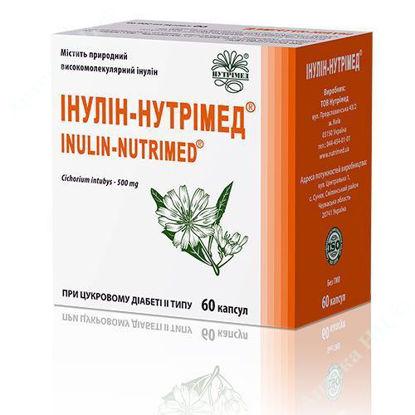 Зображення Інулін-Нутрімед капсули 500 мг №60