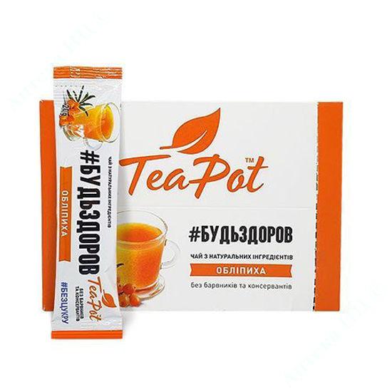 Зображення Чай обліпиховий концентрований в стіках TeaPot 20 мл №9