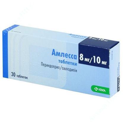 Зображення Амлесса таблетки 8 мг/10 мг №30