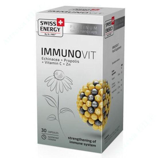 Зображення Вітаміни Swiss Energy ImmunoVit капсули №30