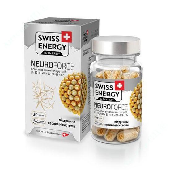 Зображення Вітаміни Swiss Energy Neuroforce капсули №30