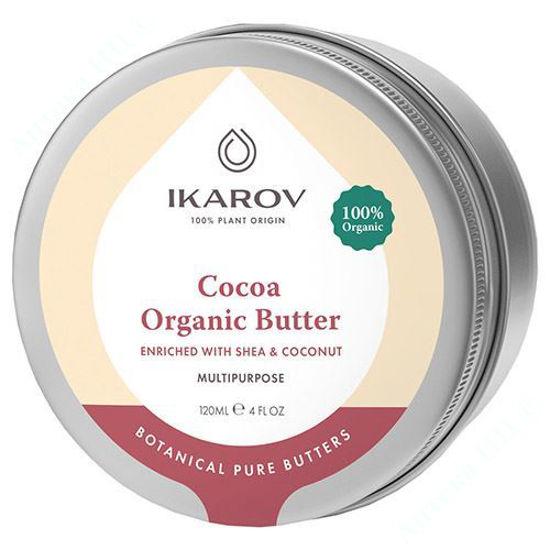 Зображення Ікаров Органічне масло Какао з Ши та Кокосом 120 мл №1