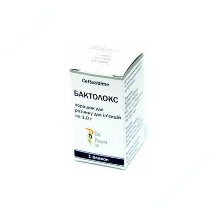 Изображение Бактолокс порошок для приготовления раствора для инъекций 1000 мг №1