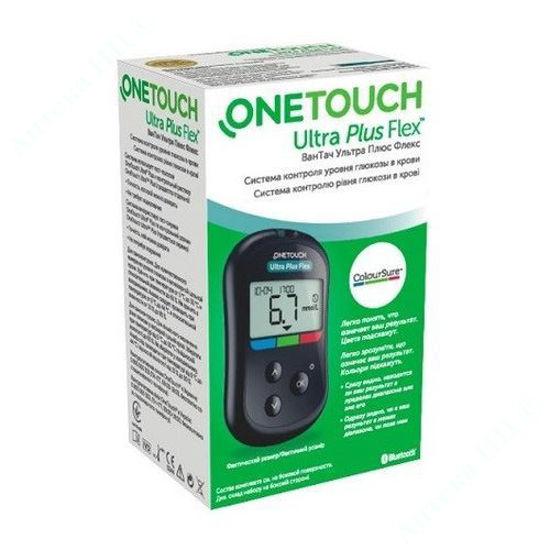 Зображення One Touch Ultra Plus Flex система контролю рівня глюкози у крові №1