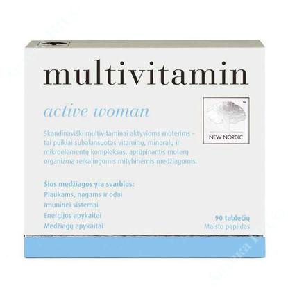 Изображение Мультивитамин активная женщина/Multivitamin active woman таблетки №90