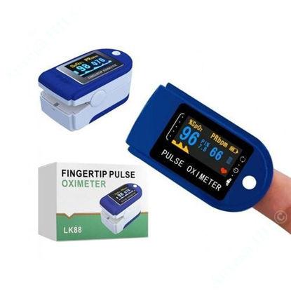 Зображення Пульсоксиметр Fingertip Pulse 0ximeter LК88 №1