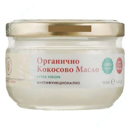 Изображение Органическое кокосовое масло Extra Virgin 100 мл, Икаров