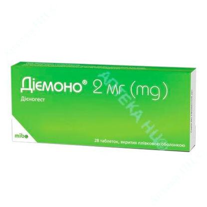 Зображення Діємоно таблетки 2 мг №28