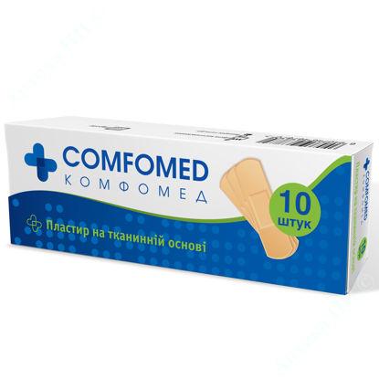 Изображение Пластырь медицинский COMFOMED на тканевой основе 19 мм х 72 мм №10
