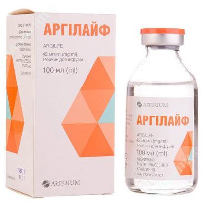 Изображение Аргилайф раствор для инфузий 42 мг/мл 100 мл №1