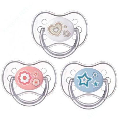 Изображение 22/563 Пустышка силиконовая круглая 6-18 месяцев Newborn baby