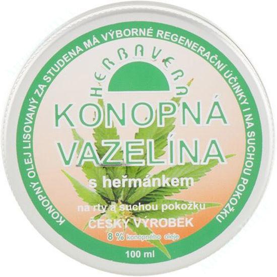 Изображение Вазелин на конопляном масле с ромашкой мазь 100 мл №1