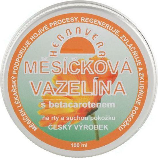 Изображение Вазелин с календулой и бета-каротином мазь 100 мл №1