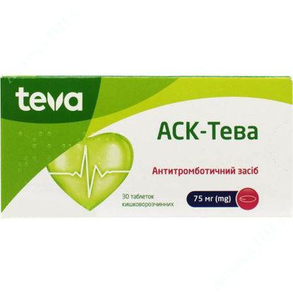Изображение АСК-Тева таблетки 75 мг №30