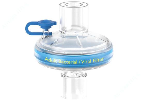 Изображение Фильтр ThermoShield вирусобактериальный тепловлагообменный для взрослых с портом Luer №1