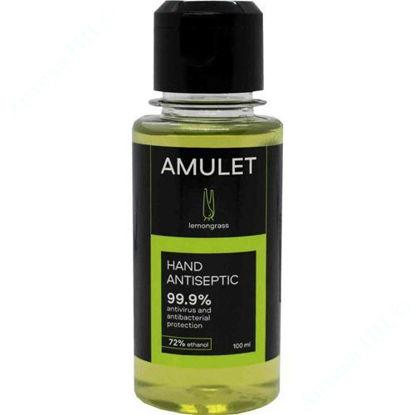 Изображение Аптисептическое средство для рук AMULET lemongrass 100 мл