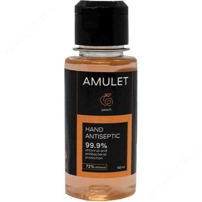 Изображение Антисептическое средство для рук AMULET peach 100 мл