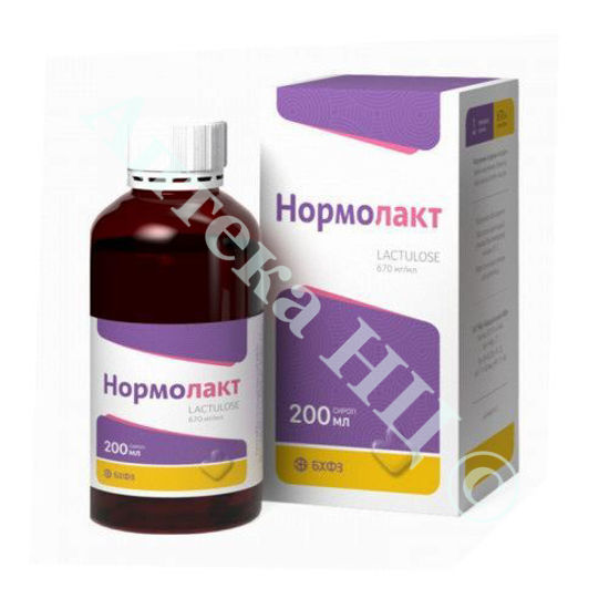 Изображение Нормолакт сироп 670 мг/мл 200 мл