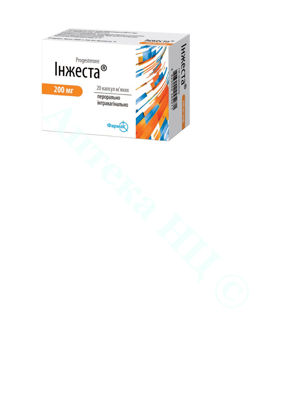 Зображення Інжеста капсули 200 мг №20