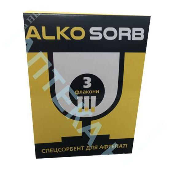 Изображение Алко-сорб порошок для оральной суспензии 9 г №3