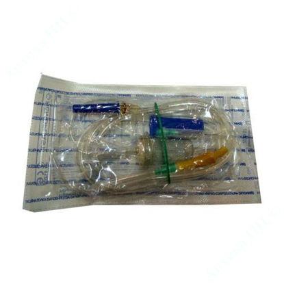 Зображення Пристрій для вливання інфузійних розчинів HEMOPLAST, стерильний, ВКР №1