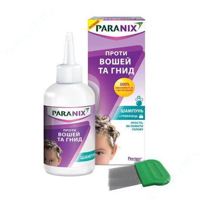 Зображення Паранікс шампунь для лікування педикульозу  200 мл, з гребінцем (1+1)
