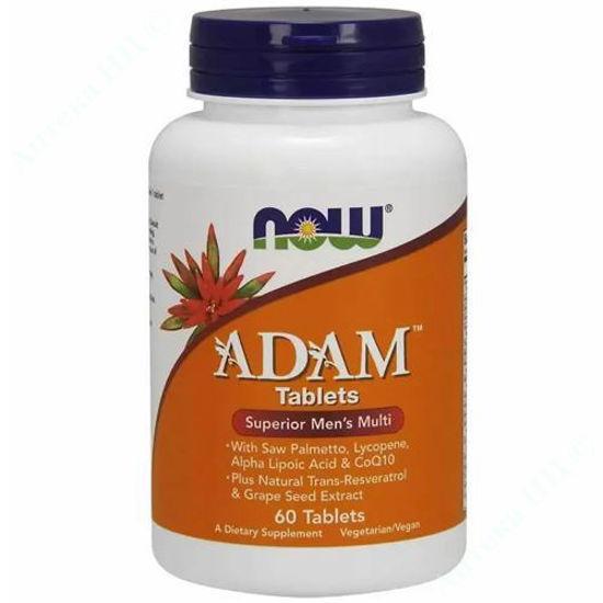 Изображение Витаминный комплекс Адам таблетки №60