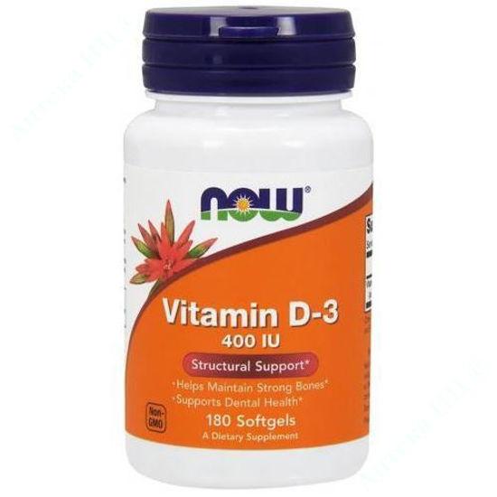 Изображение Витамин Д3 капсулы 400 МЕ №180