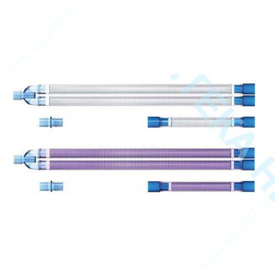 Изображение Контур дыхательный параллельный 22 мм, 1,6 м  с Y-подобным соединителем