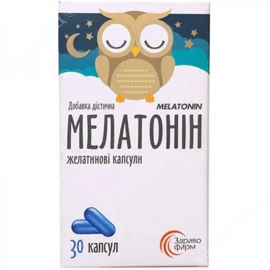 Изображение Мелатонин капсулы №30