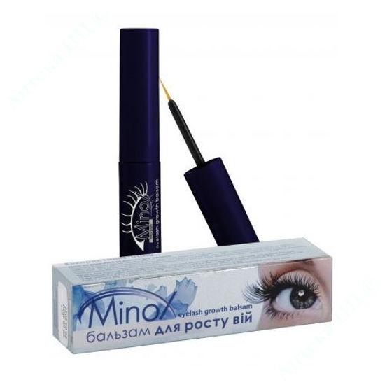 Изображение Сыворотка для роста ресниц Minox Max Lash 3 мл №1