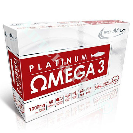 Изображение Омега-3 Платинум капсулы 1000 мг №60