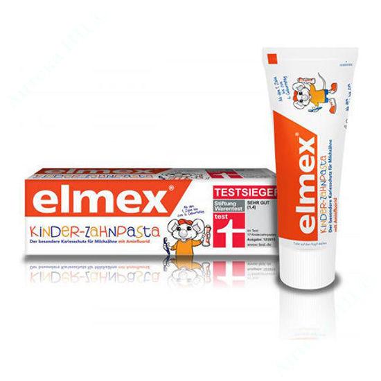 Изображение Зубная паста Элмекс детская 50 мл