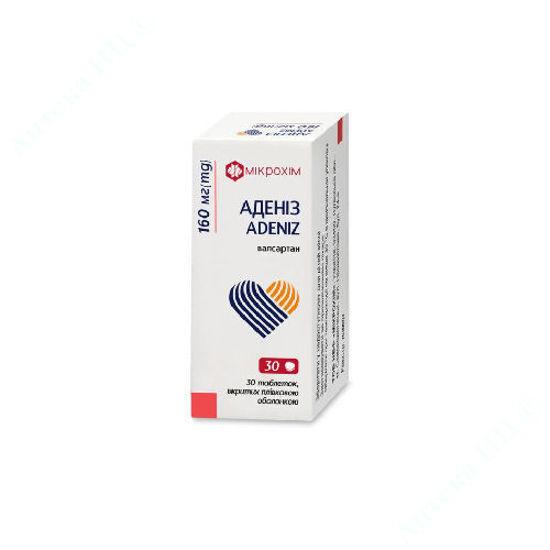 Изображение Адениз таблетки 160 мг №30
