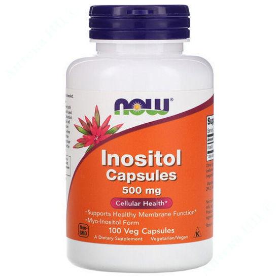 Изображение Инозитол Now Foods капсулы 500 мг №100